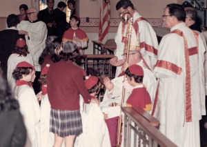 A photo of my confirmation at St. Richard's Church.