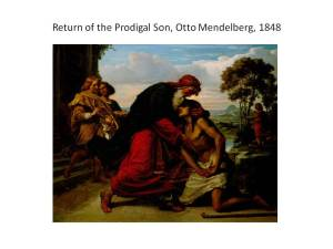 Online Retreat Prodigal Son slide