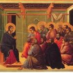 disciples in upper room