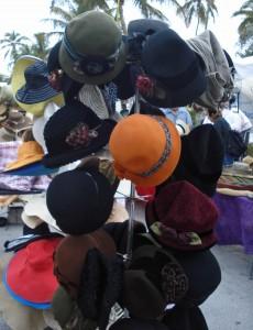 hats-on-flea-matket