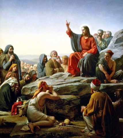 Sermon on the Mount -Carl Bloch 1890