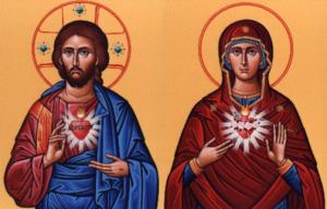 Sacred Heart Immaculate Heart