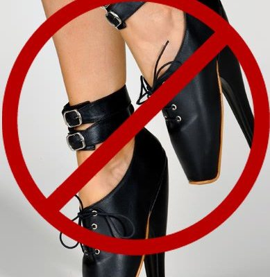 The Freedom to...................Shoes:  Reject The Comfort of Sin